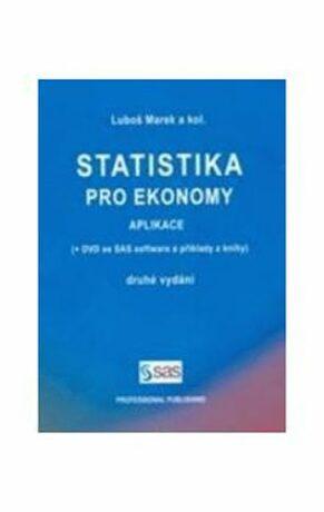 Statistika pro ekonomy Aplikace + DVD, 2 - Luboš Marek