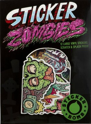 Sticker Zombies - Rarekwai (SRK)