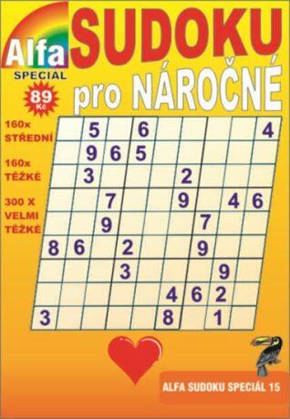 Sudoku speciál 15 pro nároční - neuveden