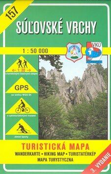 Súľovské vrchy 1:50 000 -