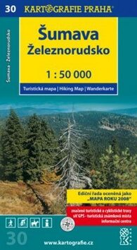 1: 50T (30) - Šumava/ Železnorudsko (turistická mapa)