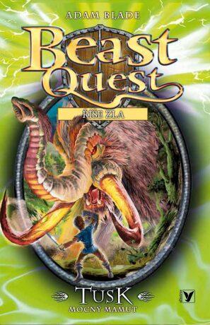 Tusk, mocný mamut - Beast Quest (17) - Adam Blade