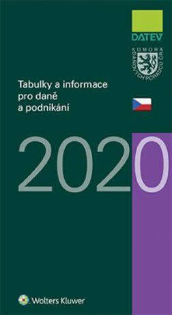 Tabulky a informace pro daně a podnikání 2020 - Ivan Brychta