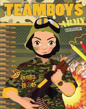 TEAMBOYS Army Colour! - neuveden