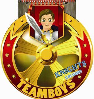TEAMBOYS Knights Colour! – štít - neuveden