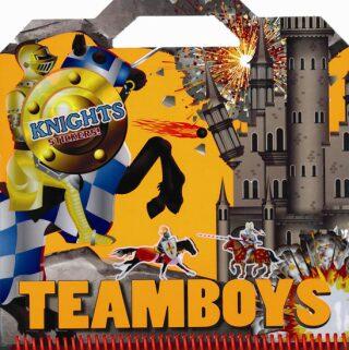 TEAMBOYS Knights Stickers! - neuveden