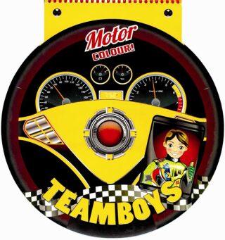 TEAMBOYS Motor Colour! – volant - neuveden