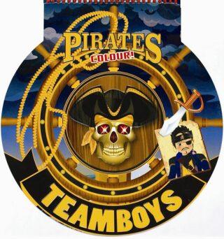 TEAMBOYS Pirates Colour! – kormidlo - neuveden
