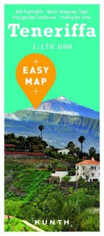 Teneriffa - Easy Map 1:170 000 - neuveden