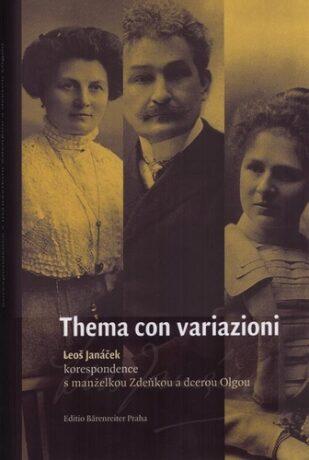 Thema con variazioni - Leoš Janáček, Svatava Přibáňová
