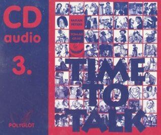 Time to talk 3 - audio CD - Tomáš Gráf, Peters Sarah