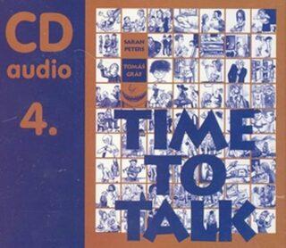 Time to talk 4 - audio CD - Tomáš Gráf, Peters Sarah