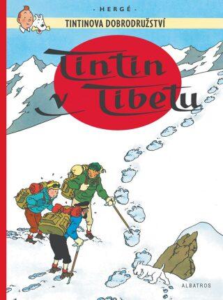 Tintinova dobrodružství Tintin v Tibetu - Herge