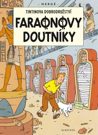 Tintinova dobrodružství Faraonovy doutníky - Herge