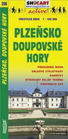 Plzeňsko, Doupovské Hory 1:100 000 - neuveden