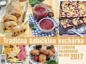 Tradičná babičkina kuchárka 2017 - stolový kalendár -