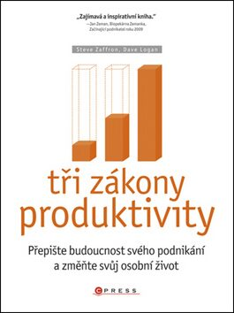 Tři zákony produktivity - Dave Logan, Steve Zaffron
