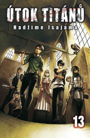 Útok titánů 13 - Hadžime Isajama