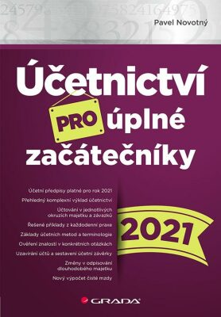Účetnictví pro úplné začátečníky 2021 - Pavel Novotný