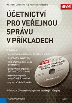 Účetnictví pro veřejnou správu v příkladech 2017 + CD - Hana Juráňová, Karolína Juhászová