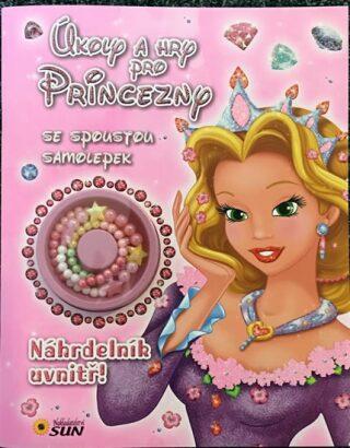 Úkoly a hry pro princezny se spoustou samolepek - Náhrdelník uvnitř! - neuveden