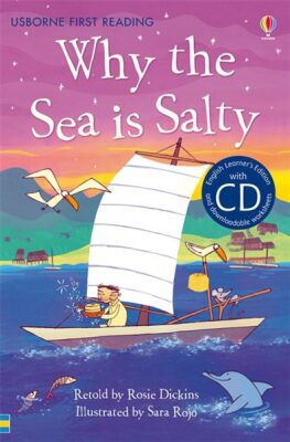 Usborne First 4 - Why the Sea is Salty + CD - Rosie Dickinsová