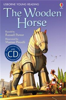Usborne Young 1 - The Wooden Horse + CD - Russell Punter