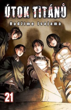 Útok titánů 21 - Hadžime Isajama