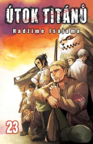 Útok titánů 23 - Hadžime Isajama