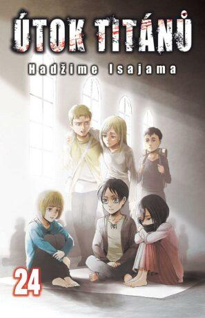 Útok titánů 24 - Hadžime Isajama