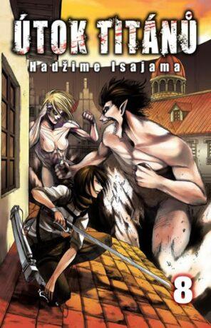 Útok titánů 8 - Hadžime Isajama