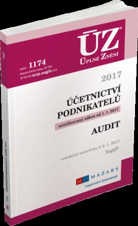 ÚZ 1174 Účetnictví podnikatelů, Audit, 2017 -