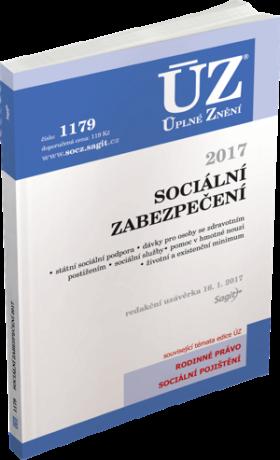 ÚZ 1179 Sociální zabezpečení 2017 -