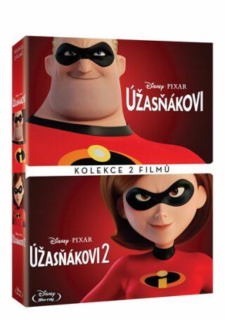 Úžasňákovi kolekce 1.+2. - DVD
