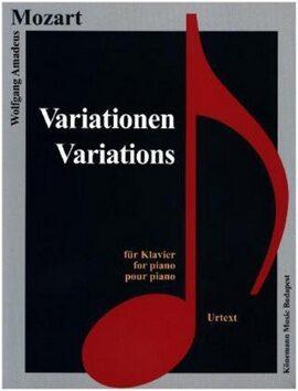Variationen - Wolfgang Amadeus Mozart