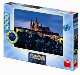 Večerní Praha - puzzle neon 1000 dílků
