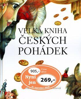 Velká kniha českých pohádek - Pavel Šrut, Eva Frantová