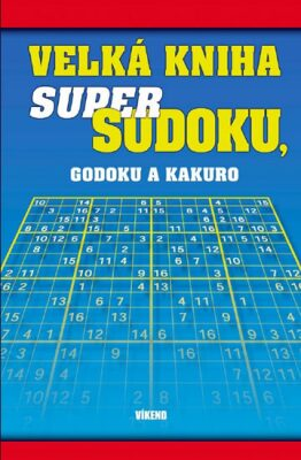 Velká kniha sudoku, godoku a kakuro - neuveden