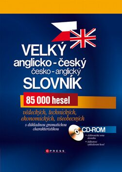 Velký anglicko-český a česko-anglický slovník - TZ-One