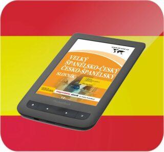 Velký španělsko-český/ česko-španělský slovník (pro PocketBook) - TZ-One - e-kniha