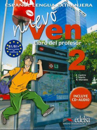 Ven nuevo 2 Příručka učitele + CD - Kolektiv
