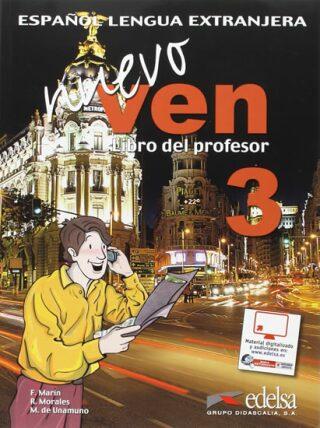 Ven nuevo 3 Libro del profesor - Marín Arrese Fernando