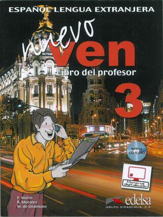 Ven nuevo 3 Příručka učitele + CD - Kolektiv