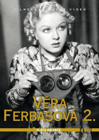 Věra Ferbasová 2. - Zlatá kolekce - 4DVD - neuveden