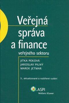Veřejná správa a finance veřejného sektoru - Jaroslav Pilný
