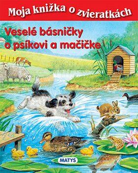Veselé básničky o psíkovi a mačičke - Sibyla Mislovičová