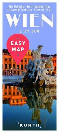 Vídeň - Easy Map 1:17 500 - neuveden