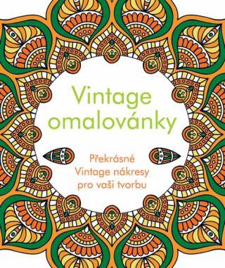 Vintage omalovánky - neuveden