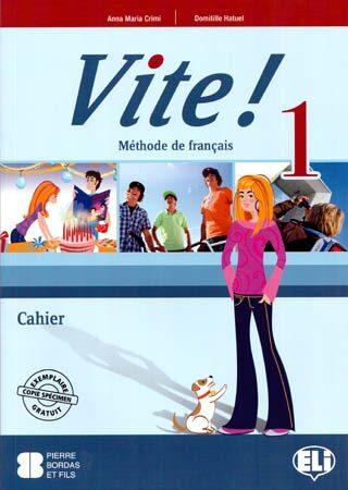 VITE! 1 - pracovní sešit + audio CD (1) - Domitille Hatuel, Anna Maria Crimi