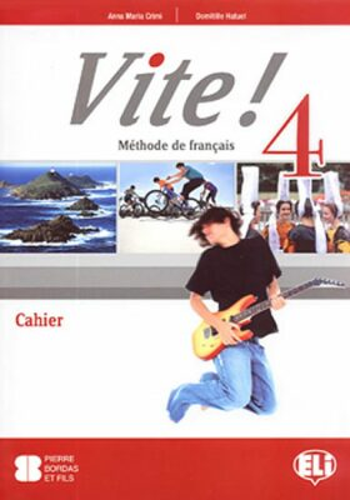 VITE! 4 - pracovní sešit + audio CD (1) - Domitille Hatuel, Anna Maria Crimi